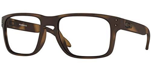Ray-Ban Herren 0OX8156 Brillengestelle, Mehrfarbig (Matte Brown Tortoise), 56