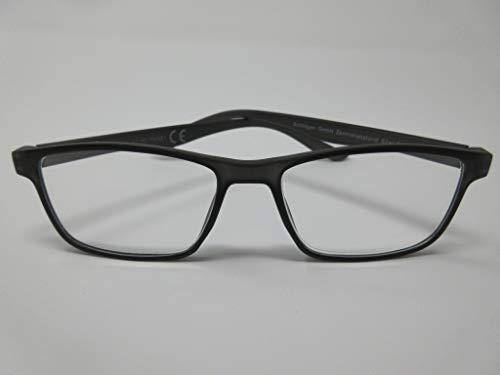 Leichte Lesebrille +3,0 schwarz für SIE & IHN Fertigbrille Lesehilfe Sehhilfe