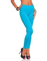 e87a7274360e FUTURO FASHION Frauen in voller Länge Baumwolle Leggings weich, plus Größen