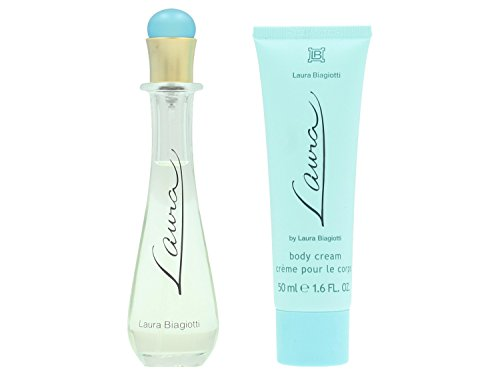 Laura Biagiotti Trial femme/woman, Geschenkset (Eau de Toilette, 25 ml + Body Cream, 50 ml), 1er Pack (1 x 1 Stück)