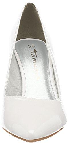 Tamaris Damen 22447 Pumps Weiß (White Patent)