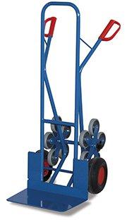 VARIOFIT Diables, chariots de tubes en acier, poids: 28 kg, hauteur: 130cm, la lame (L x P): 48 x 30 cm
