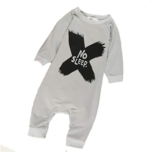 Unisex Freshman Baby Lange Ärmel Strumpfhosen Super bequem Baumwolle jumpsuit Overall -