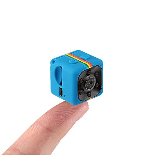 Sansnail, mini fotocamera SQ11SQ8SQ9, telecamera nascosta HD, videocamera HD, visione notturna mini camera 1080 P, sport mini DV video registratore vocale, blu