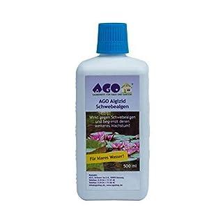 AGO Algizid Schwebealgen 500ml für bis zu 10.000 l Teichwasser