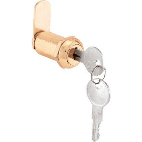 NATIONAL /SPECTRUM BRANDS HHI CCEP 9953KA 1-3/8 Brass Drawer/Cabinet Lock by NATIONAL/SPECTRUM BRANDS HHI