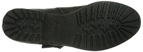 Bugatti V35311G3G Damen Biker Boots Schwarz (schwarz 100)