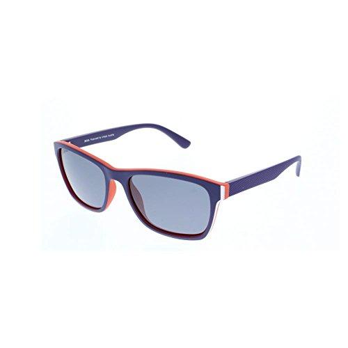 6cd98f90c8 H.I.S gafas de sol polarizadas de plástico HP 58119, púrpura, espejo de  plata,