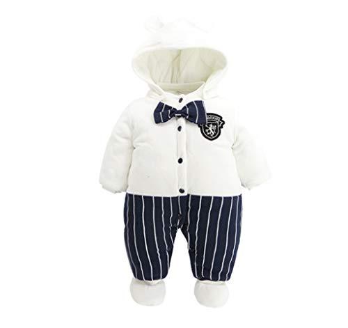 Baby Haber Jacke Jungen und Mädchen Kapuzen Jumpsuit Jacke Baumwolle Verdicken Jacke Cute Newborn Winter Creeper 0-24 Monate