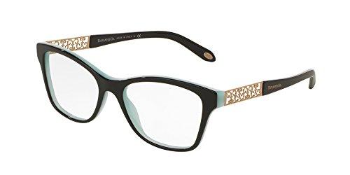 Tiffany & Co. Damen Brillengestell Schwarz Schwarz