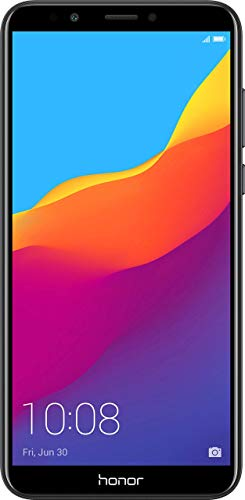 "(CERTIFIED REFURBISHED) Honor 7C Black (5.99"" FullView Display, 32GB)"