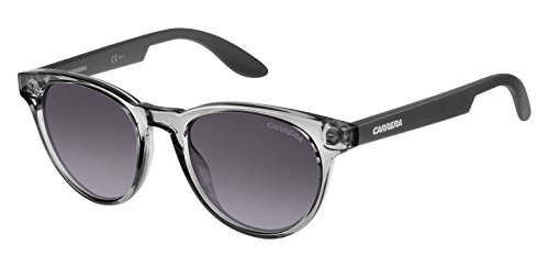 Carrera Junior Unisex-Kinder CARRERINO 18 N3 PZF Sonnenbrille, Grau Black/Grey Sf, 46