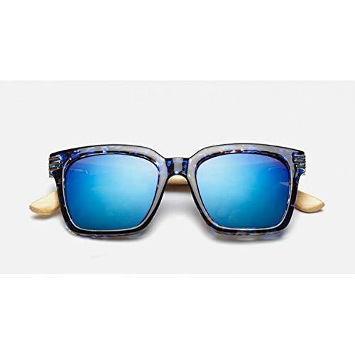 TDPYT Platz Bambus Sonnenbrille Männer Holz Sonnenbrille Frauen Spiegel Benutzerdefinierte Für Alle Sonnenbrille