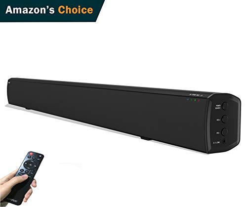 LONPOO 609B 20W*2 Slim TV altavoz soundbar