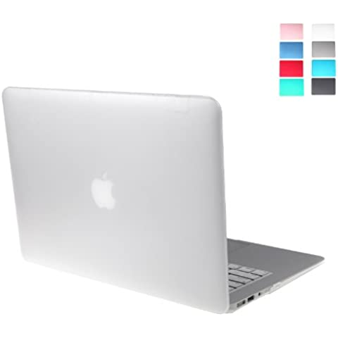 Andoer® Funda Dura Elegante y ligera funda 2-Part Crystal Case Carcasa de PC Protector de revestimiento Mate Duro para MacBook Air 13