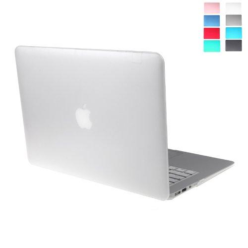 """KKmoon Coque Matte dur Protecteur Housse de Protection de Clavier pour MacBook Air 13 """" (Blanc)"""
