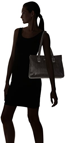 Tamaris - Nadine Shoulderbag, Borse a spalla Donna Nero (Black Comb)