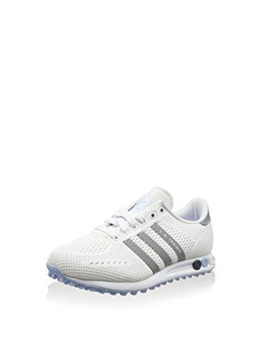 adidas La Trainer Em, Chaussures de Running Compétition Femme Blanc