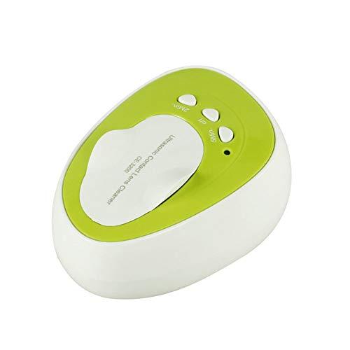 7W Mini Ultraschall Kontaktlinsen Reinigungsset 4ML Beauty Automatic Cleaning Box,Green