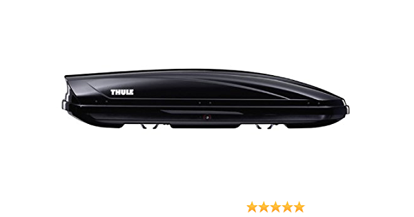Thule Motion 600 Roof Box Black 350 Litre Amazon Co Uk Car Motorbike