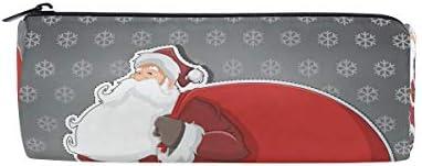 Isaoa Trousse Trousse Trousse Père Noël Cadeau Portable ronde Pen Sac pochette de rangeHommes t Sac à main porte-stylo Cadeau de Noël pour enfants étudiant officier de voyage maquillage Sac pour femme fille B07JMZW6H5 | De La Mode  a594b0