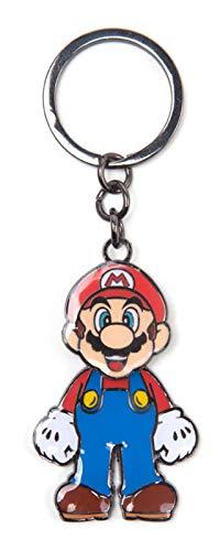 Super Mario Schlüsselring Keychain Mario Moveable head Nue offiziell Nintendo