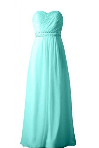 Sunvary elegante, senza spalline abito A-line Sweetheart vestito da damigella d'onore per feste Menta