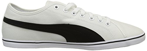 Puma Elsu V2 Cv, Baskets Basses Homme Blanc (White/Black)