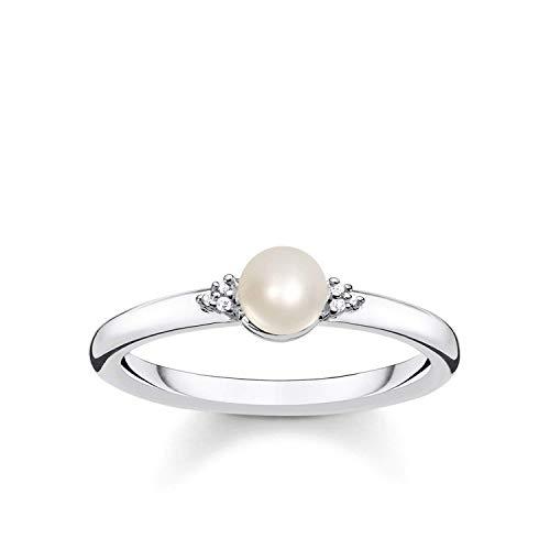 THOMAS SABO Damen-Ringe 925 Sterlingsilber zirkonia \'- Ringgröße 54 D_TR0039-765-14-54