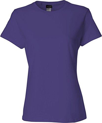 Everybody's Gay auf American Apparel Fine Jersey Shirt violett