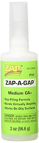 Pacer Technology (Zap) Pacer Technology (Zap) Zap-A-Gap Adhesives, 2 oz