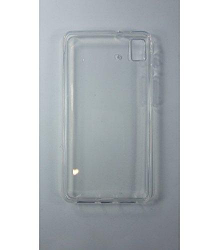 Funda de gel TPU carcasa protectora silicona para BQ Aquaris E4.5 Transparente