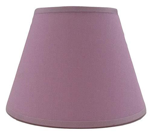 Kleine lila Kerze Clip auf Lampenschirm Deckenleuchte Kronleuchter Wandleuchte Lampenschirm handgefertigt Baumwolle Stoff.