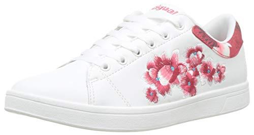 Desigual Damen Shoes (Tennis Hindi Dancer) Sneaker, Weiß (Blanco 1000), 41 EU