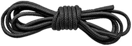 Vestito Tradizionale Cotone Cerato Lacci 2,5mm, nero (Black), 75 cm