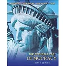 Study guide for the struggle for democracy: edward s. Greenberg.