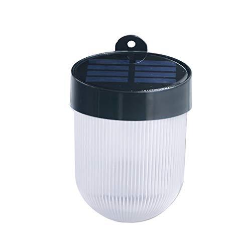 Dtuta Runder Hof Im Freien Solar Wasserdichte Led Lampe Wandleuchte Dekoratives Licht Kohlenstoffarme Energieeinsparung Umweltschutz