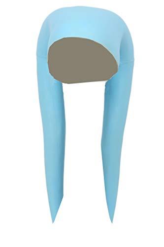 Cosplay Kostüm Erwachsene Headgear Blau Latex Kopf Decoration Film Replik Prop für Halloween Verrückte Kleid - Latex Star Wars Kostüm