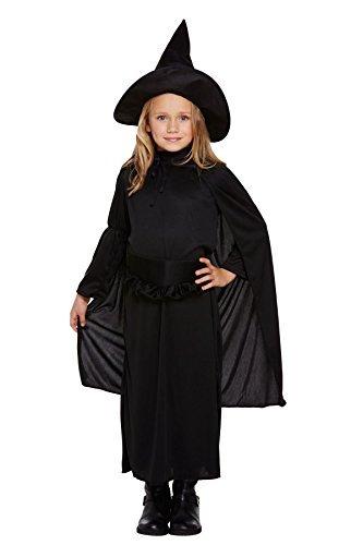 Costume bambino strega classico medium 7-9 anni