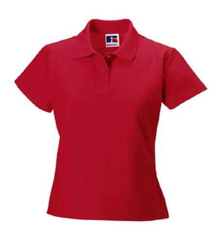 Jerzees Ladies Ultimate Pique Cotton® lo Shirt XL Classic Red (Ultimate Damen Piqué Shirt)