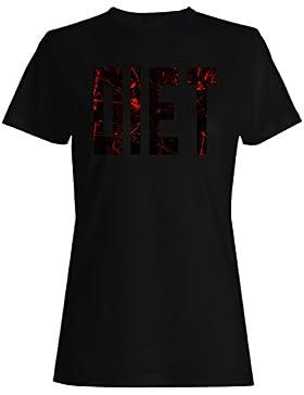 Dieta en la Sangre y el Dolor camiseta de las mujeres s80f