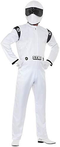 Fancy Me Herren-Kostüm The Stig Racing Driver Hirsch Do Night Party - Driver Herren Kostüm