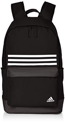 adidas CLAS BP 3S Pock - Mochila, Unisex Adulto, Black/White, M