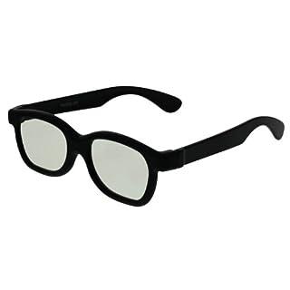 EX3D Eyewear TH0009 passive 3-D Brille schwarz