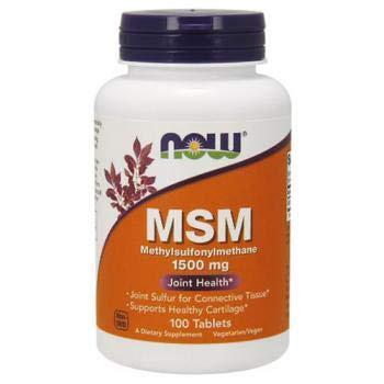 Msm 1500 Mg 200 Tabletten (MSM, Methylsulphonylmethan, 1500 mg, 200 Tabletten - Now Foods)