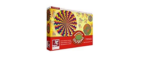 Toy Kraft Mandala Illusions, Multi Color