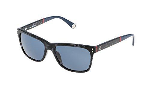 Carolina herrera she611560809, occhiali da sole donna, nero (negro), 56