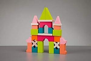 Cubika 11346Juguete, Madera Juguete, Toys, Juguete para Ladrillos, holzbausteine, Después De motricidad, Juguete, Multicolor