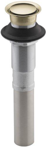 Kohler K-7124-AF Pop Up Clicker Ablaufgarnitur ohne Überlauf, French Gold -