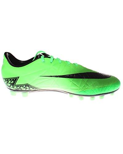 Nike Hypervenom Phelon Ii Ag-r, Chaussures de Football Homme - APPL GRN/MTLLC SLVR-YLLW STRK